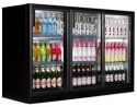 Budget BB3 Triple door bottle cooler fridge