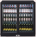 LEC BC9027K Double door bottle cooler fridge
