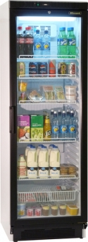Blizzard GDR40 Upright Glass Door Display Fridge (13cu.ft)