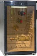 Blizzard WINE105 Undercounter Black Wine Cooler (30 Bottles)