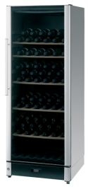 Vestfrost FZ295W Black Steel Wine Cooler (146 Bottles)