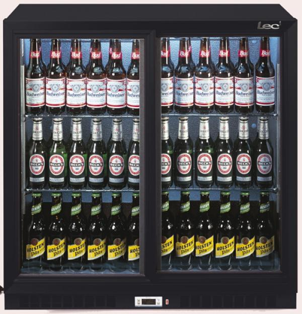 Lec Bc9027k Double Door Bottle Cooler Fridge